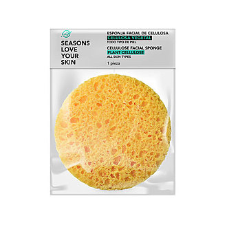Seasons - Esponja Facial de Celulosa