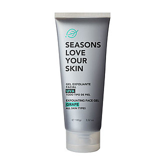 Seasons - Gel Exfoliante de Rostro - Semillas de Uva