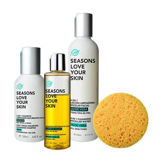 Seasons - Facial Cleansing 4 Pack