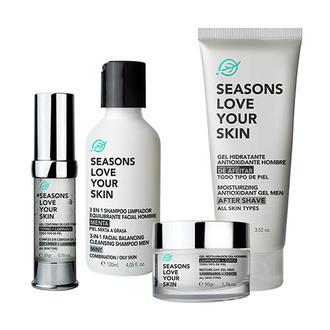 Seasons - Men Basic Face Care 4 Pack