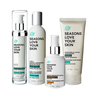 Seasons - Sensitive Skin 4 Pack