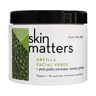 Skin Matters - Arcilla Facial Verde - Desintoxicante 70 gr