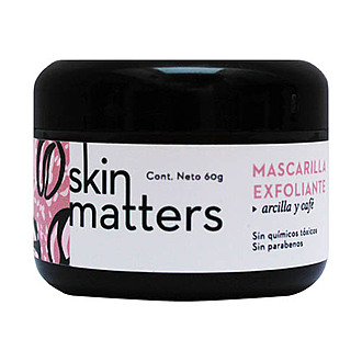 Skin Matters - Mascarilla Exfoliante Facial de Arcilla y Café 60 gr