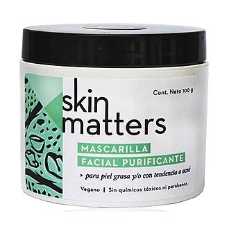 Skin Matters - Mascarilla Purificante Para Piel Grasa y/o Con Acné