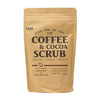 Sukin - SASS Exfoliante De Café & Cocoa 200g