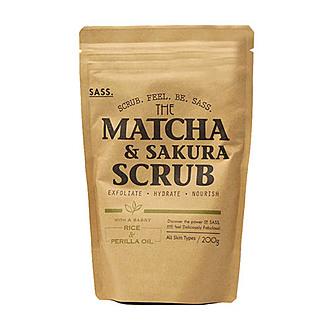 Sukin - SASS Exfoliante De Matcha & Sakura 200g
