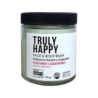 Super Happy Skin - TRULY HAPPY face & body balm coconut + grapefruit