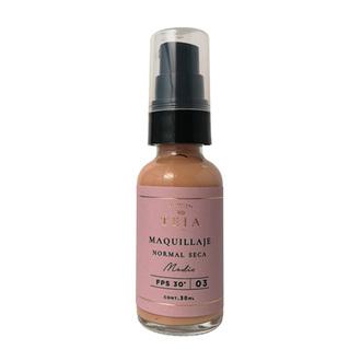 Teia - Maquillaje Piel Normal Seca Tono Medio