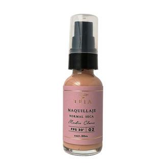 Teia - Maquillaje Piel Normal Seca Tono Medio Claro