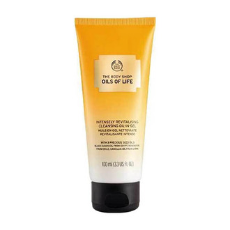 The Body Shop - Aceite en Gel Limpiador Intensivo Revitalizante Oils of Life