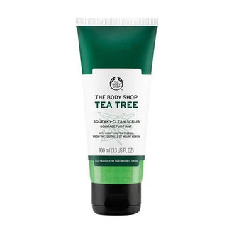 The Body Shop - Exfoliante Limpiador Tea Tree