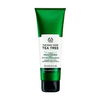 The Body Shop - Mascarilla Facial Exfoliante 3 en 1 Tea Tree