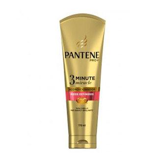 Pantene - Acondicionador Pantene Pro V, 3 Minute Miracle Rizos Definidos
