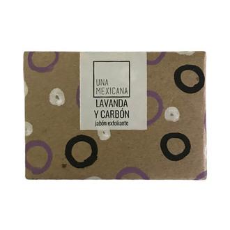 Una Mexicana - Jabón De Lavanda Y Carbón Activado