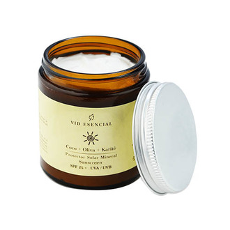 Vid Esencial - Protector Solar Mineral Coco + Oliva + Karité / SPF 25+