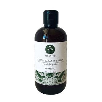 XiXänthé - Shampoo Purificante Limón Naranja Sábila