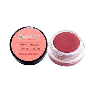 XiXänthé - Tinte Multiusos Labios & Mejillas / Rosas & Geranio - Arándano