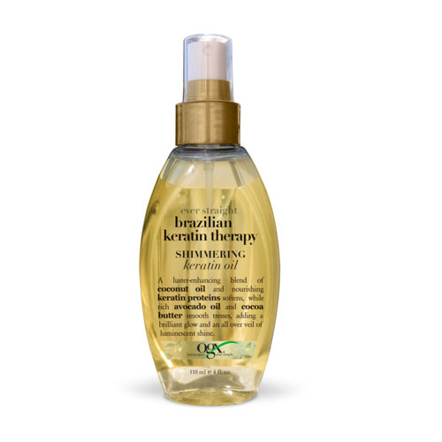Shimmering Keratin Oil