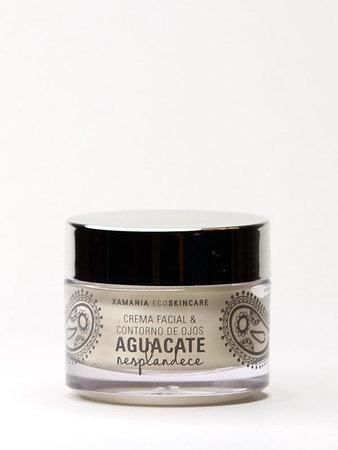 Xamania - Aguacate Crema Facial y Contorno Ojos