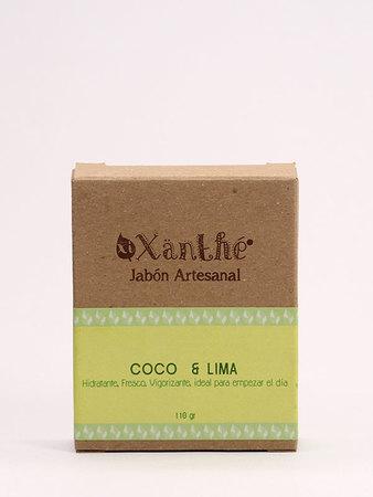 XiXänthé - Jabón Artesanal Coco - Lima