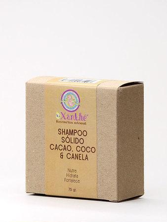 XiXänthé - Shampoo Sólido Cacao, Coco y Canela