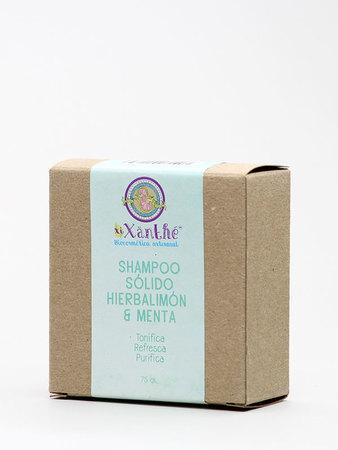 XiXänthé - Shampoo Sólido Hierbalimón & Menta
