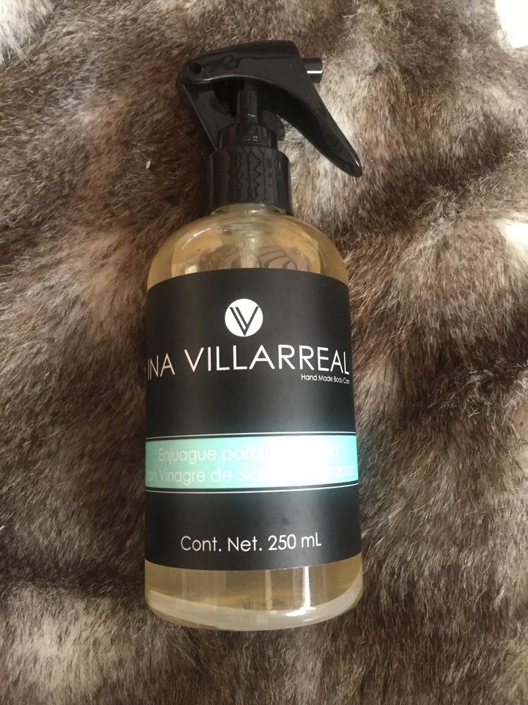 Ina Villarreal - Enjuague para el cabello