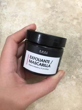 Exfoliante / Mascarilla Facial de Tepezcohuite y 5 arcillas