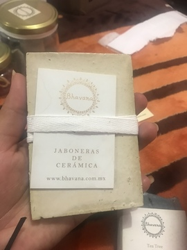 Bhavana - Jaboneras de Cerámica