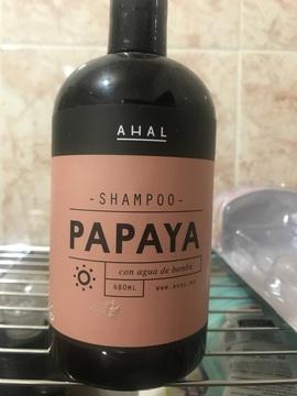 Shampoo Papaya con agua de Bamboo