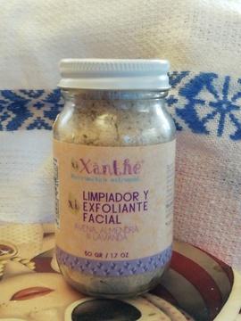 Exfoliante Facial Suavizante Avena Lavanda